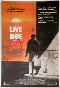 To Live and Die in LA One Sheet